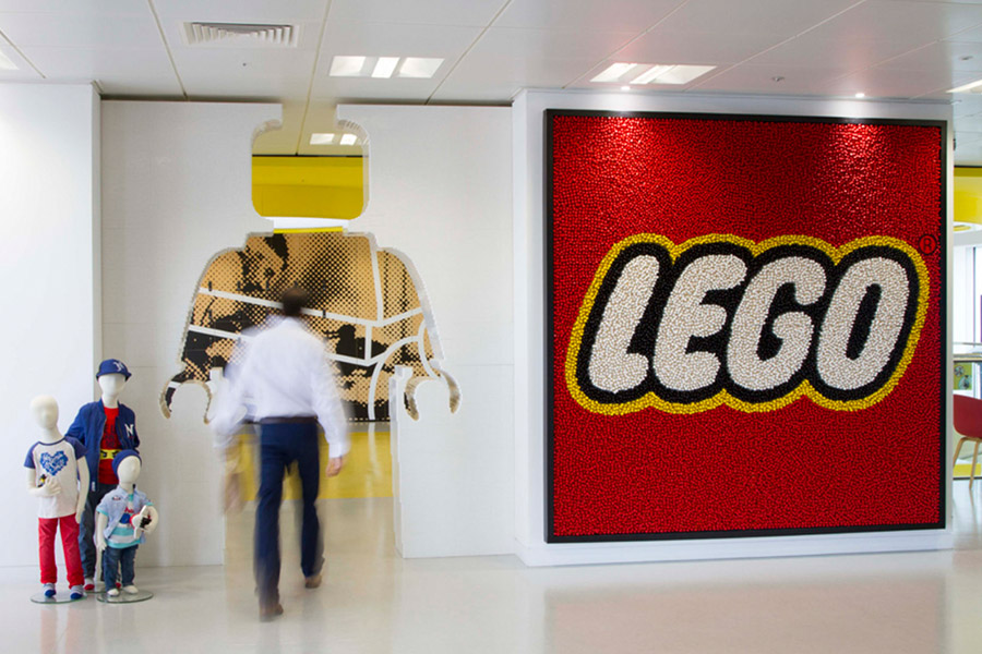 Lego Group Innovates Daily Work in London