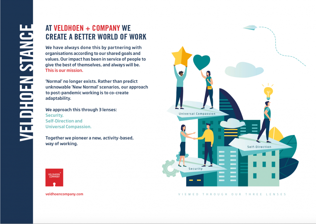 Veldhoen + Company on COVID-19 and The New Future of Work